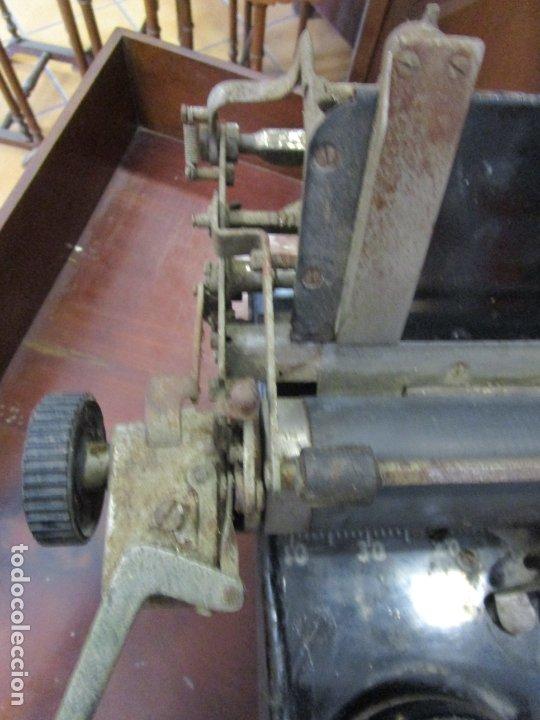 Antigüedades: Antigua Maquina de Escribir - Marca Royal, Standard - Años 20 - Foto 17 - 182597041