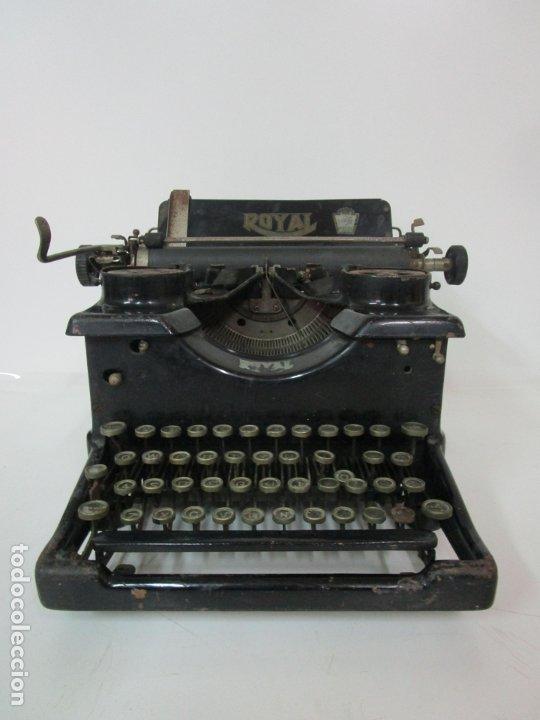 Antigüedades: Antigua Maquina de Escribir - Marca Royal, Standard - Años 20 - Foto 19 - 182597041