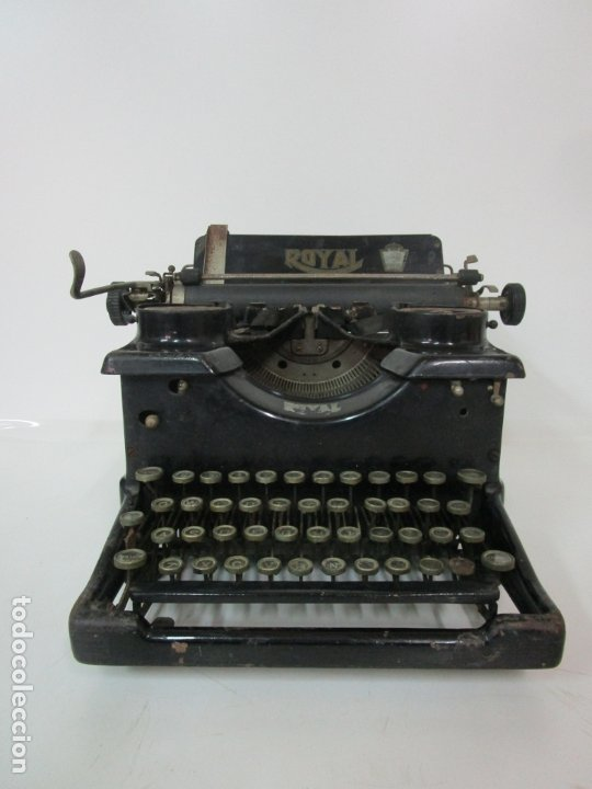 ANTIGUA MAQUINA DE ESCRIBIR - MARCA ROYAL, STANDARD - AÑOS 20 (Antigüedades - Técnicas - Máquinas de Escribir Antiguas - Royal)