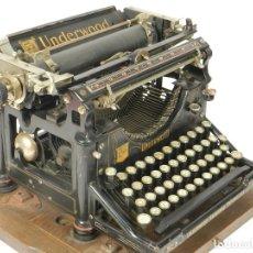Antigüedades: MAQUINA DE ESCRIBIR UNDERWOOD Nº5 AÑO 1915 TYPEWRITER SCHREIBMASCHINE. Lote 182603403