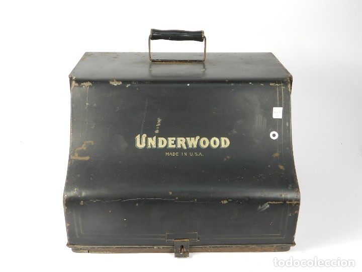 Antigüedades: MAQUINA DE ESCRIBIR UNDERWOOD Nº5 AÑO 1915 TYPEWRITER SCHREIBMASCHINE - Foto 2 - 182603403