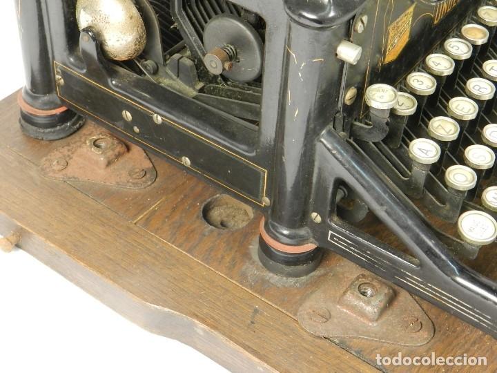 Antigüedades: MAQUINA DE ESCRIBIR UNDERWOOD Nº5 AÑO 1915 TYPEWRITER SCHREIBMASCHINE - Foto 11 - 182603403