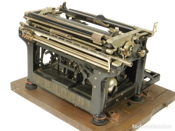 Antigüedades: MAQUINA DE ESCRIBIR UNDERWOOD Nº5 AÑO 1915 TYPEWRITER SCHREIBMASCHINE - Foto 12 - 182603403
