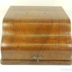 Antigüedades: ESTUCHE MADERA MAQUINA ADLER. Lote 182609623