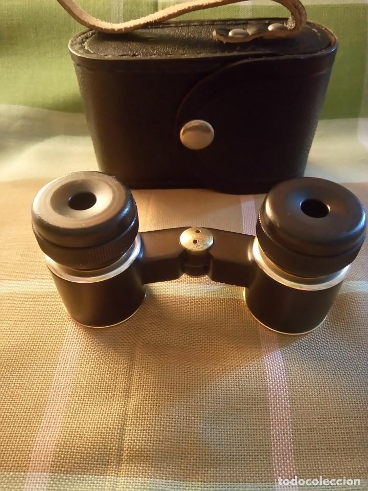 PRISMATICOS DE METAL. EN PERFECTO ESTADO Y FUNCIONAMIENTO. DESCRIPCION Y FOTOS DIVERSAS. (Antigüedades - Técnicas - Instrumentos Ópticos - Prismáticos Antiguos)