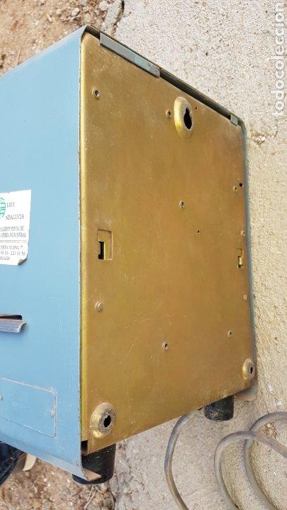 Antigüedades: Antigua máquina para fichar industrial funciona - Foto 4 - 182678447