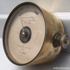Antigüedades: ANTIGUO AMPERÍMETRO FRANCÉS CARPENTIER SIGLO XIX. Lote 182709117