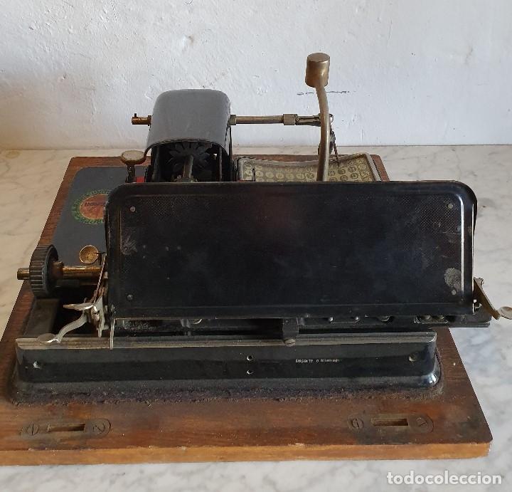 Antigüedades: ANTIGUA MAQUINA DE ESCRIBIR - Foto 5 - 182717818