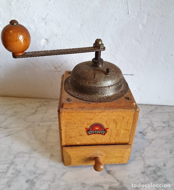 MOLINILLO DE CAFÉ ANTIGUO (Antigüedades - Técnicas - Molinillos de Café Antiguos)