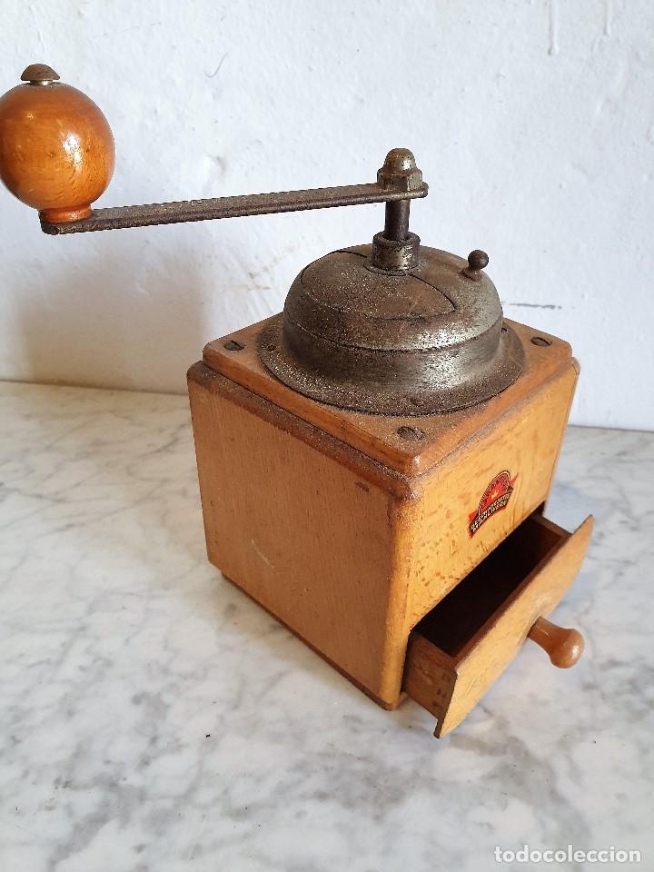 Antigüedades: MOLINILLO DE CAFÉ ANTIGUO - Foto 2 - 182739268