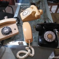 Teléfonos: LOTE DE TELÉFONOS, 2 FICHAS DE TELÉFONO DE REGALO. Lote 182769645