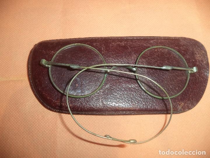 GAFAS ANTIGUAS DE EPOCA SIGLO XIX ORIGINALES CON SU FUNDA (Antigüedades - Técnicas - Instrumentos Ópticos - Gafas Antiguas)