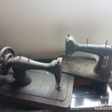 Antigüedades: DOS MAQUINAS DE COSER. Lote 182891537