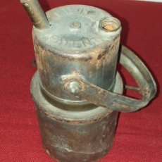 Antigüedades: LÁMPARA DE CARBURO. Lote 182952651