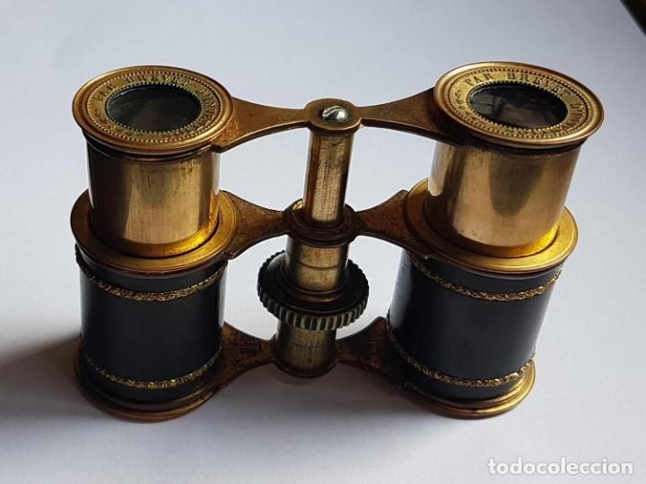 ANTIGUOS PRISMATICOS BINOCULARES BREVET CON ESTUCHE (Antigüedades - Técnicas - Instrumentos Ópticos - Binoculares Antiguos)