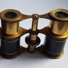 Antigüedades: ANTIGUOS PRISMATICOS BINOCULARES BREVET CON ESTUCHE. Lote 182955642