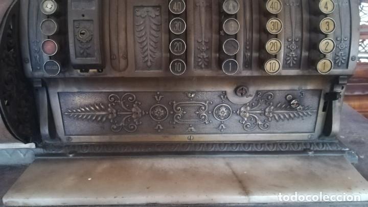 Antigüedades: CAJA REGISTRADORA MAQUINA REGISTRADORA NATIONAL - Foto 5 - 182985873