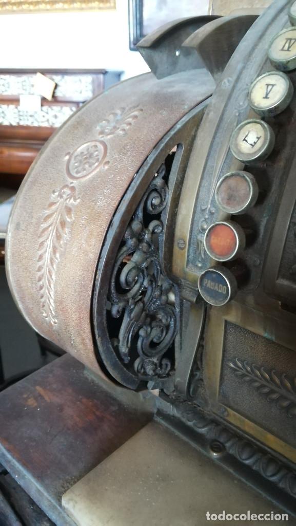 Antigüedades: CAJA REGISTRADORA MAQUINA REGISTRADORA NATIONAL - Foto 8 - 182985873
