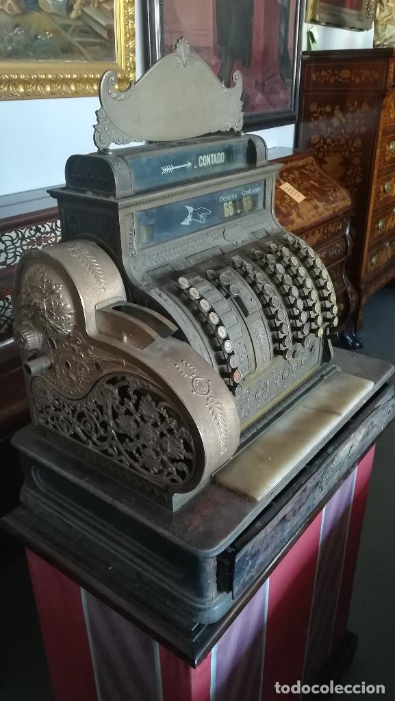 CAJA REGISTRADORA MAQUINA REGISTRADORA NATIONAL (Antigüedades - Técnicas - Aparatos de Cálculo - Cajas Registradoras Antiguas)