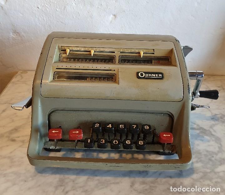 ANTIGUA CALCULADORA ODHNER (Antigüedades - Técnicas - Aparatos de Cálculo - Calculadoras Antiguas)