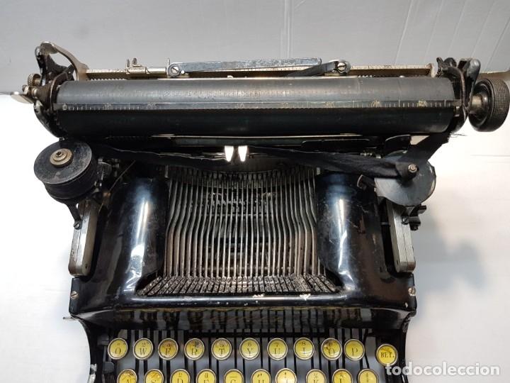 Antigüedades: Máquina escribir PERKEO Portatil made in Spain extremadamente dificil - Foto 4 - 183034812