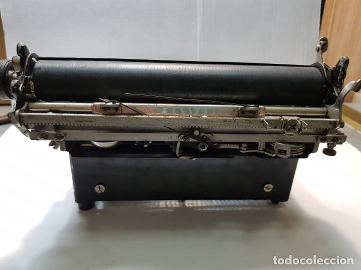 Antigüedades: Máquina escribir PERKEO Portatil made in Spain extremadamente dificil - Foto 5 - 183034812