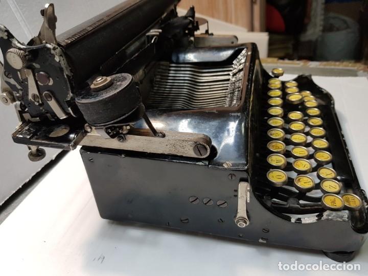 Antigüedades: Máquina escribir PERKEO Portatil made in Spain extremadamente dificil - Foto 7 - 183034812