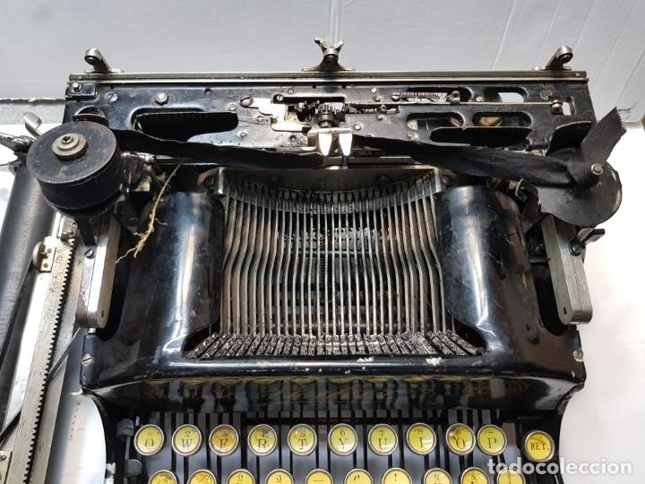Antigüedades: Máquina escribir PERKEO Portatil made in Spain extremadamente dificil - Foto 9 - 183034812