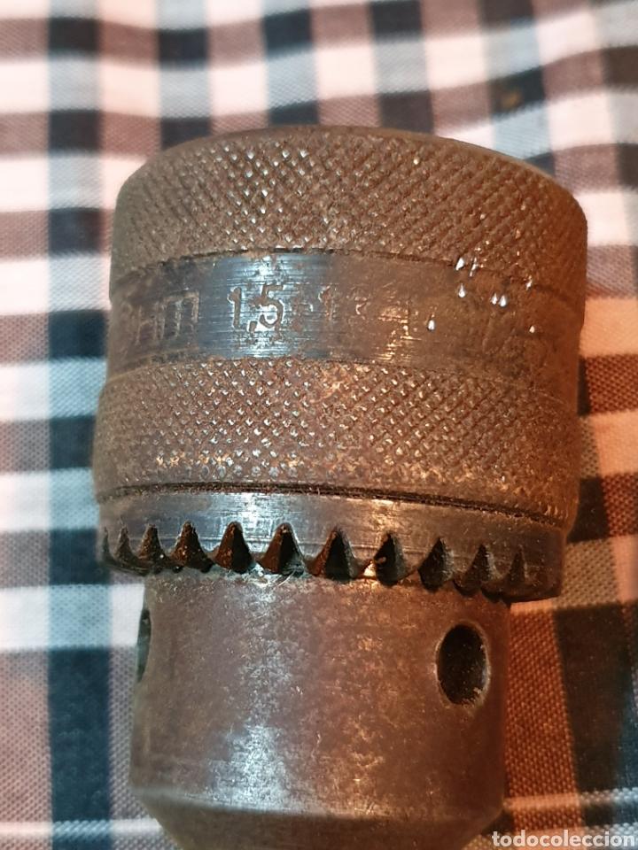 Antigüedades: Conjunto de 3 portabrocas, bocas de taladro, lo fotografiado. - Foto 6 - 183039417