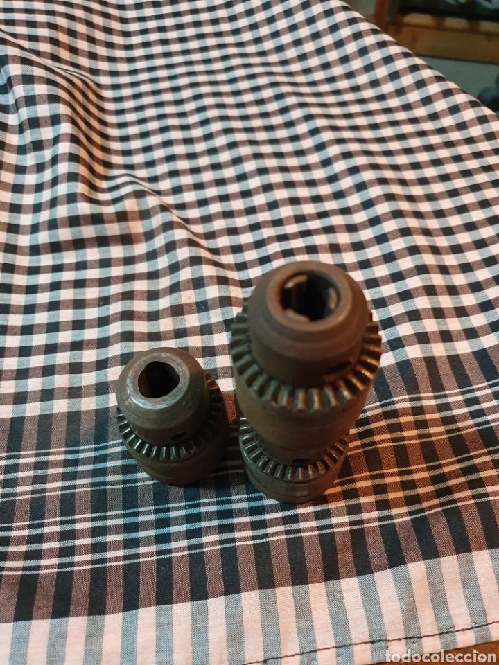 Antigüedades: Conjunto de 3 portabrocas, bocas de taladro, lo fotografiado. - Foto 11 - 183039417