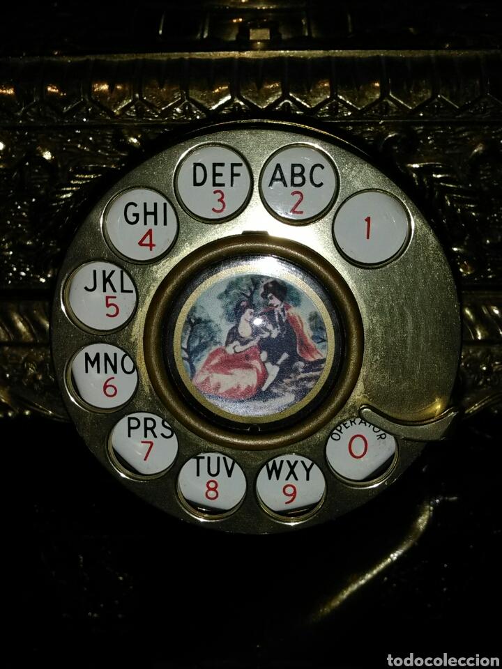 Teléfonos: PRECIOSO TELÉFONO DE SOBREMESA.VINTAGE. FRAGONARD. - Foto 4 - 183059135