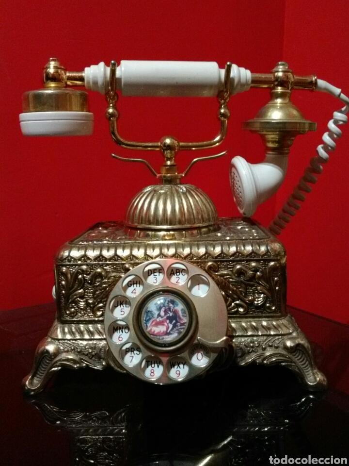 PRECIOSO TELÉFONO DE SOBREMESA.VINTAGE. FRAGONARD. (Antigüedades - Técnicas - Teléfonos Antiguos)