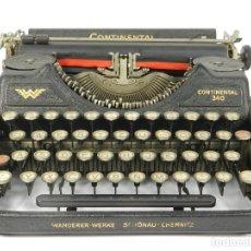 Antigüedades: MAQUINA DE ESCRIBIR CONTINENTAL WANDERER 340 AÑO 1935 TYPEWRITER SCRHEIBMASCHINE. Lote 183074418