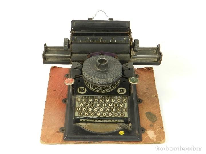 MAQUINA DE ESCRIBIR JUNIOR GSN AÑO 1925 TYPEWRITER SCRHEIBMASCHINE (Antigüedades - Técnicas - Máquinas de Escribir Antiguas - Otras)