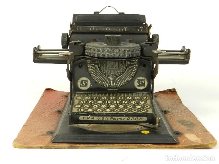 Antigüedades: MAQUINA DE ESCRIBIR JUNIOR GSN AÑO 1925 TYPEWRITER SCRHEIBMASCHINE - Foto 2 - 183075468