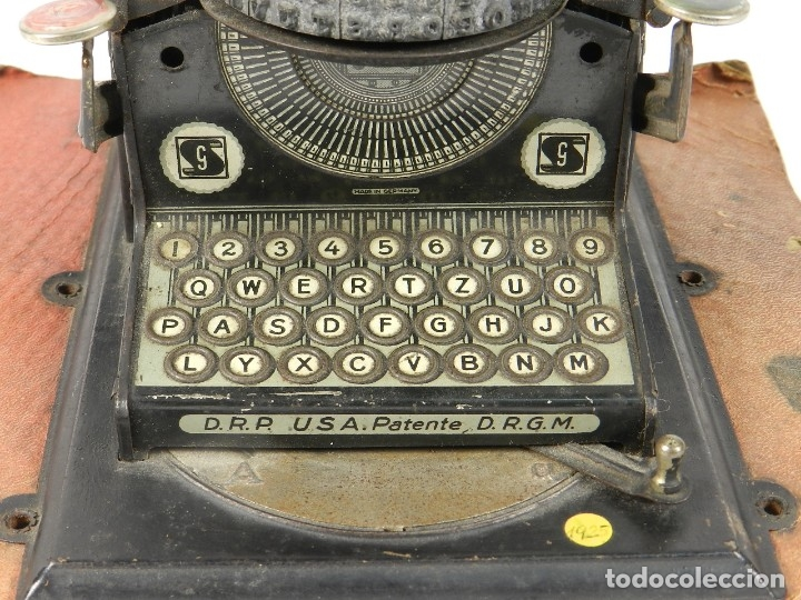 Antigüedades: MAQUINA DE ESCRIBIR JUNIOR GSN AÑO 1925 TYPEWRITER SCRHEIBMASCHINE - Foto 3 - 183075468