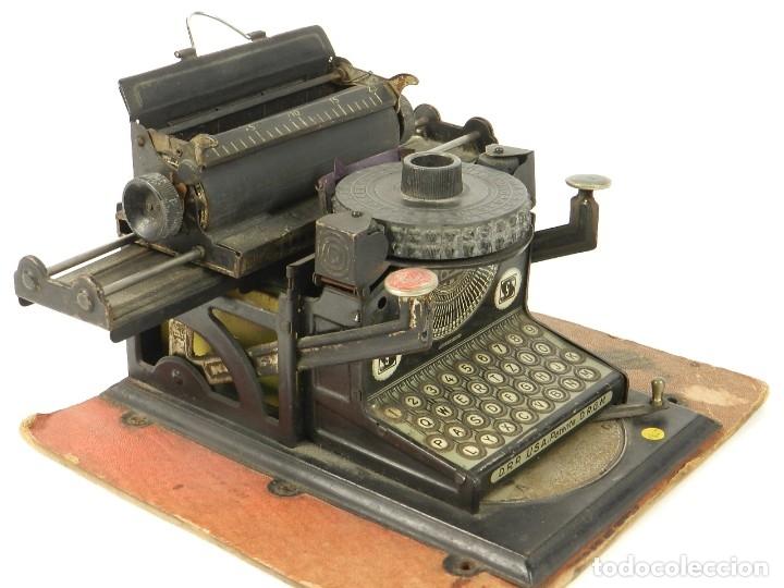 Antigüedades: MAQUINA DE ESCRIBIR JUNIOR GSN AÑO 1925 TYPEWRITER SCRHEIBMASCHINE - Foto 6 - 183075468