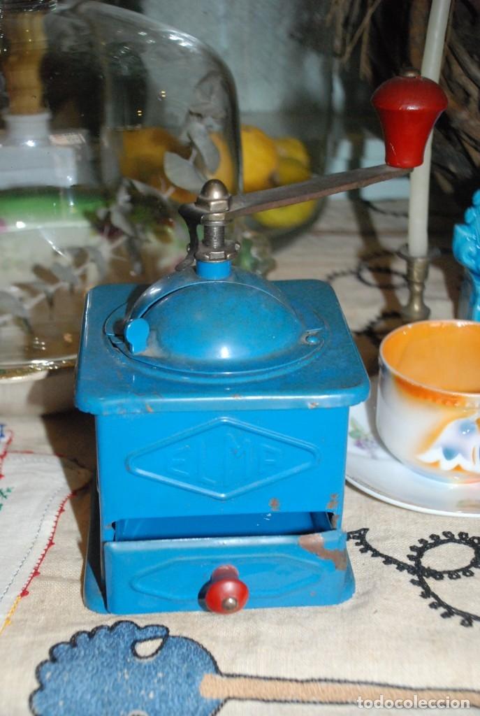 Antigüedades: ANTIGUO MOLINILLO DE CAFÉ ELMA - Foto 2 - 183081026