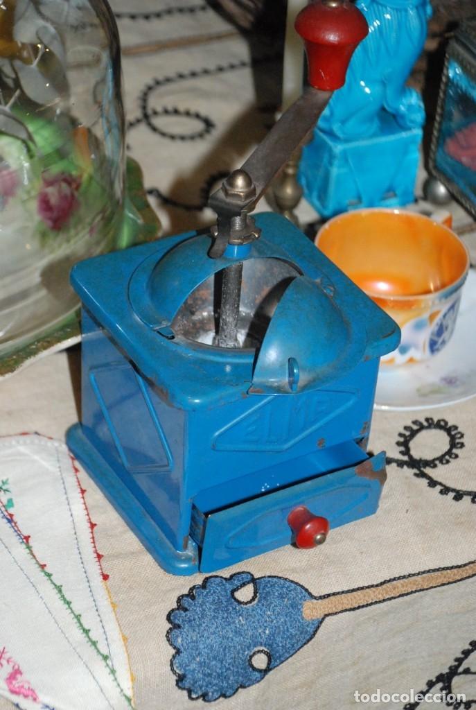 Antigüedades: ANTIGUO MOLINILLO DE CAFÉ ELMA - Foto 3 - 183081026