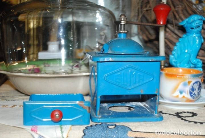 Antigüedades: ANTIGUO MOLINILLO DE CAFÉ ELMA - Foto 5 - 183081026
