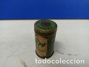 Antigüedades: IMPRESIONANTE MAQUINILLA DE AFEITAR SAFETY RAZOR EN CAJA METALICA ORIGINAL - Foto 4 - 183175050