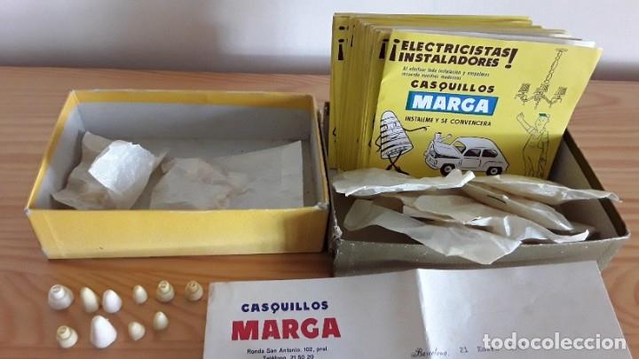 ANTIGUOS CASQUILLOS MARGA, BARCELONA (Antigüedades - Técnicas - Herramientas Profesionales - Electricidad)