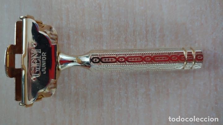 MAQUINILLA DE AFEITAR GEM (Antigüedades - Técnicas - Barbería - Maquinillas Antiguas)