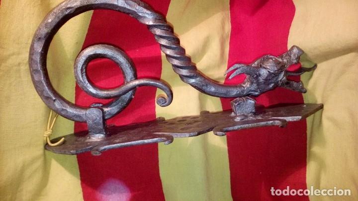 Antigüedades: PICAPORTE - ALDABA . - Foto 6 - 169625168
