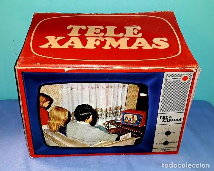 TELE PROYECTOR DE SUPER 8 XAFMAS TELEVISION DE 6 PULGADAS AÑOS 60 ORIGINAL MADE IN SPAIN FUNCIONA (Antigüedades - Técnicas - Aparatos de Cine Antiguo - Proyectores Antiguos)