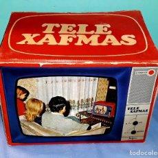 Antigüedades: TELE PROYECTOR DE SUPER 8 XAFMAS TELEVISION DE 6 PULGADAS AÑOS 60 ORIGINAL MADE IN SPAIN FUNCIONA. Lote 183256817