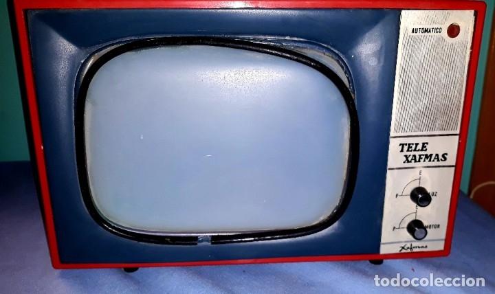 Antigüedades: TELE PROYECTOR DE SUPER 8 XAFMAS TELEVISION DE 6 PULGADAS AÑOS 60 ORIGINAL MADE IN SPAIN FUNCIONA - Foto 3 - 183256817