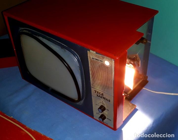 Antigüedades: TELE PROYECTOR DE SUPER 8 XAFMAS TELEVISION DE 6 PULGADAS AÑOS 60 ORIGINAL MADE IN SPAIN FUNCIONA - Foto 7 - 183256817