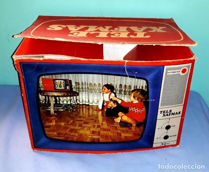 Antigüedades: TELE PROYECTOR DE SUPER 8 XAFMAS TELEVISION DE 6 PULGADAS AÑOS 60 ORIGINAL MADE IN SPAIN FUNCIONA - Foto 11 - 183256817