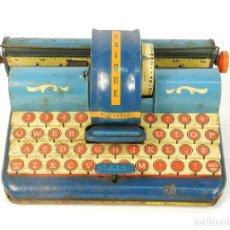 Antigüedades: MAQUINA DE ESCRIBIR UNIQUE AÑO 1946 TYPEWRITER SCRHEIBMASCHINE. Lote 183268553